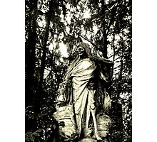 Death - The Time Keeper Photographic Print