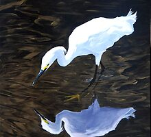 Snowy Egret by Paul Schulz