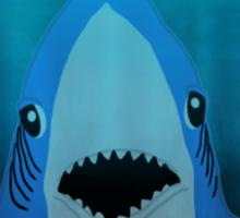 Super Bowl Shark Sticker