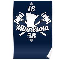 Minnesota 1858 Poster