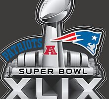 New England Patriots Superbowl 49 Champions by SOVART69