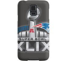 New England Patriots Superbowl 49 Champions Samsung Galaxy Case/Skin