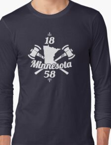 Minnesota 1858 Long Sleeve T-Shirt