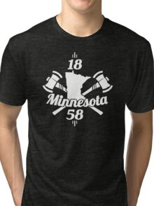 Minnesota 1858 Tri-blend T-Shirt