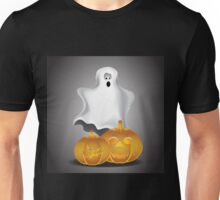 Cute cartoon ghost 3 Unisex T-Shirt
