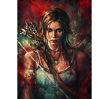 Lara Croft Tomb Raider Reborn Artwork Photographic Print