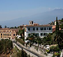 Etna from taormina by keki