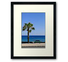 Sea View Framed Print