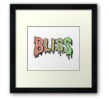 Bliss - Hip Hop mashup logo - Song - Multiple products Framed Print