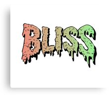 Bliss - Hip Hop mashup logo - Song - Multiple products Canvas Print