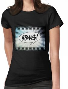 Comic @#$! Womens Fitted T-Shirt