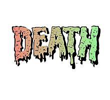 Death - Graffiti. Mashup Hip Hop song. Photographic Print