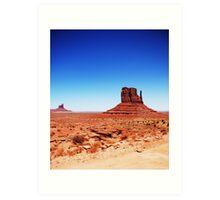 Monument Valley... Art Print