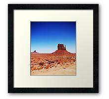 Monument Valley... Framed Print