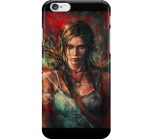 Lara Croft Tomb Raider Reborn Artwork iPhone Case/Skin