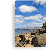 Beach at Puerta del Carmen Canvas Print