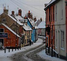 Bridge Street, Bungay, Suffolk, UK Jan 2010 by Simon Duckworth