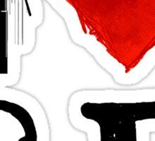 I Heart San Francisco (remix) by Tai's Tees Sticker