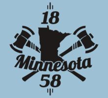 Minnesota 1858  ~ Black by Mehdals