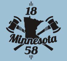 Minnesota 1858  ~ Black by Mehdals