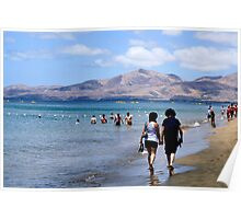 Beach at Puerta del Carmen 2 Poster
