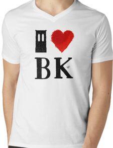 I Heart Brooklyn (remix) by Tai's Tees Mens V-Neck T-Shirt