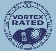 Vortex Rated (Dark) Kids Tee