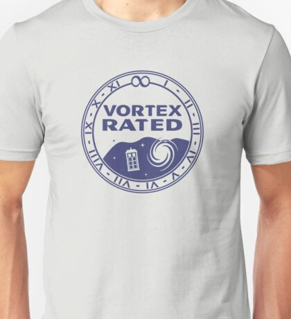 Vortex Rated (Dark) Unisex T-Shirt