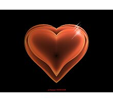 Red Hearts Photographic Print