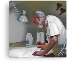 Master Of His Craft Canvas Print