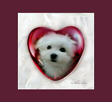 Hermes the Maltese - Valentine Boy ! Unisex T-Shirt