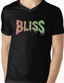 Bliss - Hip Hop mashup logo - Song - Multiple products Mens V-Neck T-Shirt