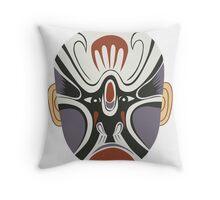 china mask 3 Throw Pillow