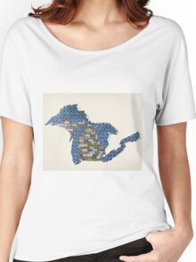 Great Plate State Women's Relaxed Fit T-Shirt