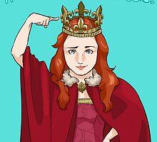 It's good to be Queen. by mcbenik