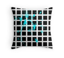 Structured Chaos Throw Pillow