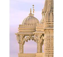 The Swaminarayan Mandir - Close-up Photographic Print