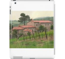 UMBRIAN COUNTRYSIDE iPad Case/Skin