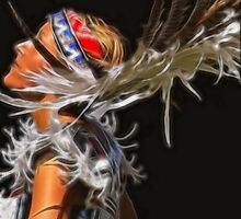 Indian Maiden by Gene Praag