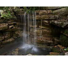 Old Mill Waterfall Photographic Print