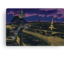 Thief in the Night Canvas Print