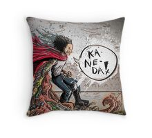 Testuo from the movie Akira Throw Pillow