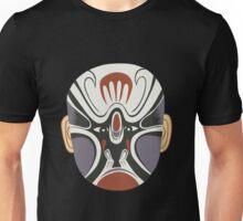 china mask 3 black Unisex T-Shirt
