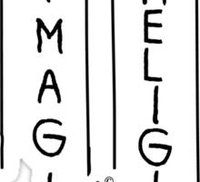 Imagine NO Religion by Tai's Tees Sticker