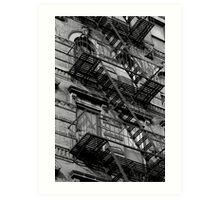 NYC Staircase Art Print