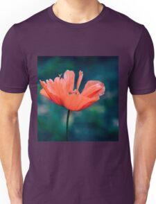 Lonely poppy Unisex T-Shirt