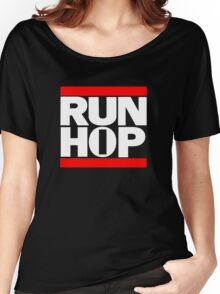 RUN HIP HOP  Women's Relaxed Fit T-Shirt