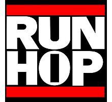 RUN HIP HOP  Photographic Print