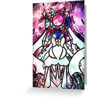 PKMN Shine Bright Like Mega Diancie Greeting Card