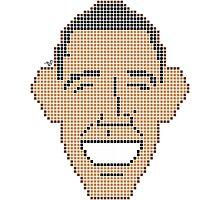 Pixel Prez by Tai's Tees Photographic Print